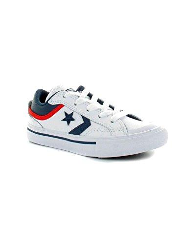 Converse chaussures en cuir Pro Blaze Blanc / Mari Blanc