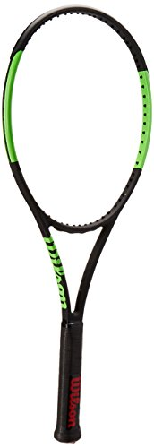 Wilson Blade 98S cvtns FRM W/O Tennisschläger, Unisex Erwachsene 35 schwarz/grün (schwarz Velvet/Electric Lime)