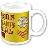 The Beatles Tasse Sgt. Peppers Lonely Hearts Club Band Kaffeetasse Keramik Becher Mug