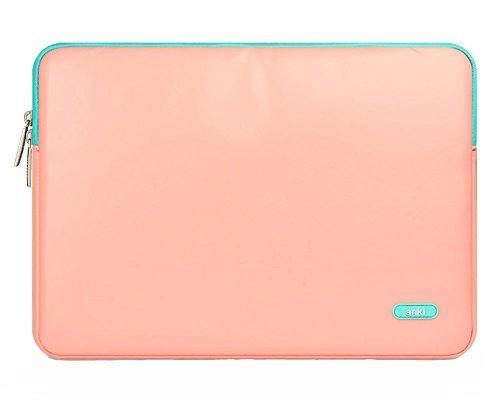 11.6 Pollici Impermeabile Custodia di Pelle Borsa da Trasporto Laptop / Notebook Computer / MacBook / MacBook Pro / MacBook Air Pink