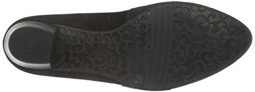 Gabor Shoes Comfort Fashion, Scarpe con Tacco Donna Nero (Schwarz Schwarz)