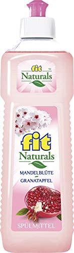 fit Naturals Spülmittel Mandelblüte Granatapfel exotischer Duft 500ml