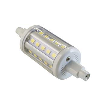 Bombilla LED R7S 78mm SevenOn LED 53087, 5W equivalente a 40W, casquillo R7S ,