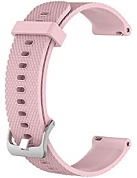 GROOMY Correa de Pulsera de reemplazo de Silicona Reloj de Pulsera Suunto 3 Fitness S/L - Pink-S