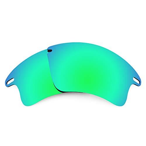 Revant Ersatzlinsen für Oakley Fast Jacket XL Polarisierung Elite Rogue Grün MirrorShield®