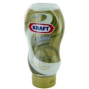 Kraft Original Squeeze Cheddar Cheese Spread 440g