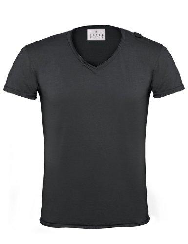 BCTMR03 T-Shirt Soul / Men Black Smoke (Solid)