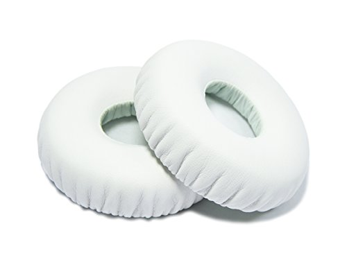 WEWOM 2 Cuscinetti di ricambio per cuffie Beat s Wireless, bianco