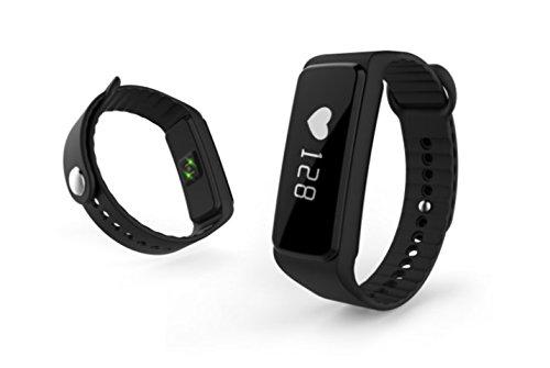 Frequenza cardiaca toracica/Bracciale Bluetooth 4.0& ANT + per Runtastic Pro, Wahoo, Strava APP, Nike + e più-Frequenza Cardiaca/HRM sensore per Garmin, TomTom, iPhone, iOS, Android & Fitness studio