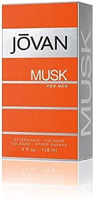Jovan Musk Men After Shave Cologne 118 ml