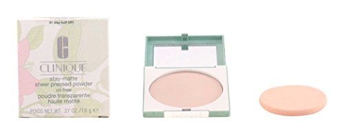 Stay Matte Sheer Pressed Powder Oil Free - Poudre Transparente Haute Matité Non Grasse