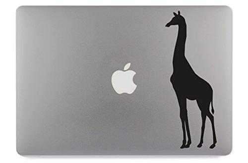 Giraffe Aufkleber Skin Decal Sticker geeignet für Apple MacBook und alle Anderen Laptop und Notebooks (13