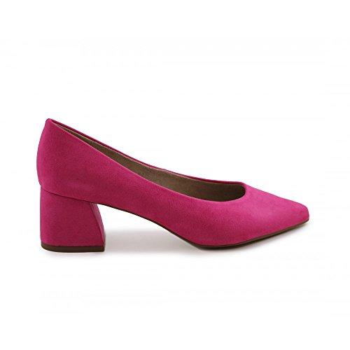 Zapato de salón tacón bajo Fucsia - Benavente