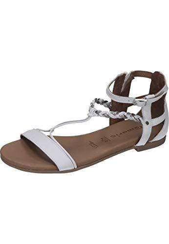 tamaris damen 28387 offene sandalen mit keilabsatz