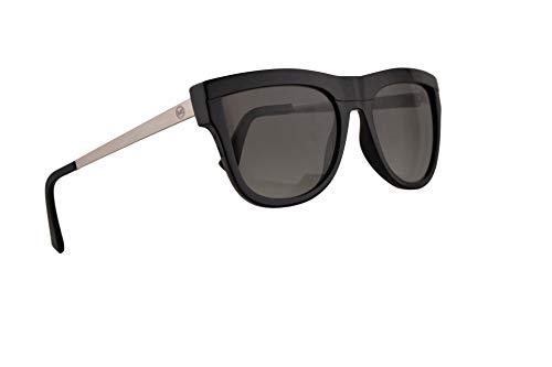 Michael Kors MK2073 St. Kitts Sonnenbrille Mittel Schwarz Mit Grauem Verlaufsglas Gläsern 56mm 333211 MK 2073