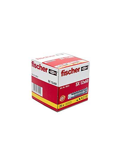 FISCHER 070012 - Taco nylon SX 12x60 (Envase de 25 ud.)