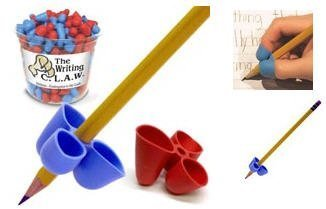 The Pencil Grip Writing C.L.A.W- Medium Set of 5 (Ass't Colors)