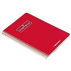 Guerrero 092789 - Cuaderno doble raya 3.5, 80 hojas A4