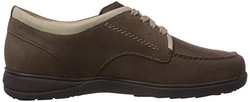 Ganter Hermes, Weite H, Derbies à lacets homme Multicolore - Mehrfarbig (mocca / smoke 2969)
