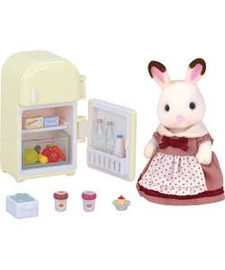 familles Sylvanian Chocolat Lapin Mother Lot.