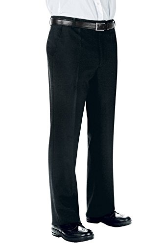Isacco Pantalone Uomo senza Pinces - Isacco Nero - 23962