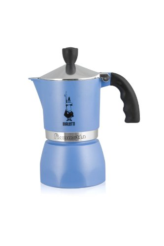 Fiammetta Azzurra - Caffettiera Espresso x 1 Tazza