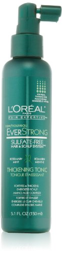 L'Oreal Paris EverStrong Hair Thickening Tonic, 5.1 Fluid Ounce