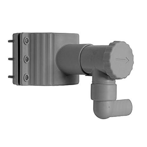 Regensammler Stabilo-Fix mit Überlaufschutz für Fallrohre von 75 - 100