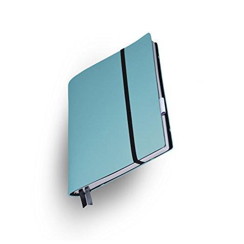 Whitebook Soft S211-ML, modulares Notizbuch, Veaux Prestige, geschnitten, turquoise, 240 S. Papier FSC (iPad Mini & Samsung Tab 8