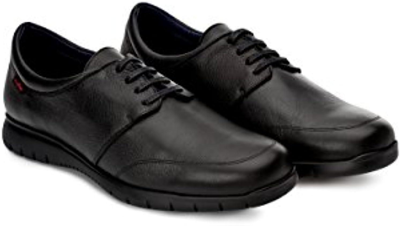 Oneflex Fabien Negro - Zapatos cómodos de Hombre para hostelería - Suela extralight y Antideslizante
