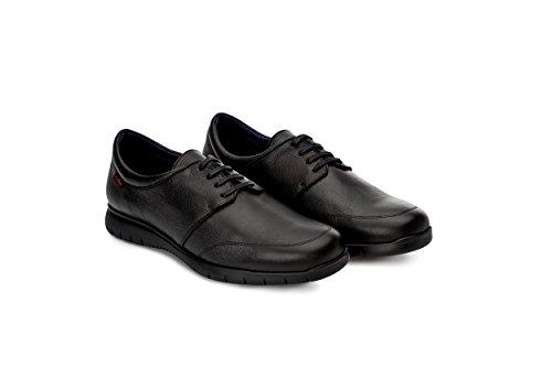 Oneflex Fabien Negro - Zapatos cómodos de Hombre para hostelería- Suela extralight y Antideslizante