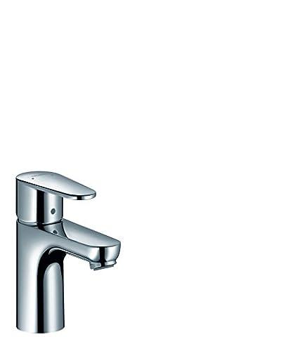 hansgrohe Talis E² Einhebel-Waschtischmischer, Komfort-Höhe 80mm ohne Ablaufgarnitur, chrom