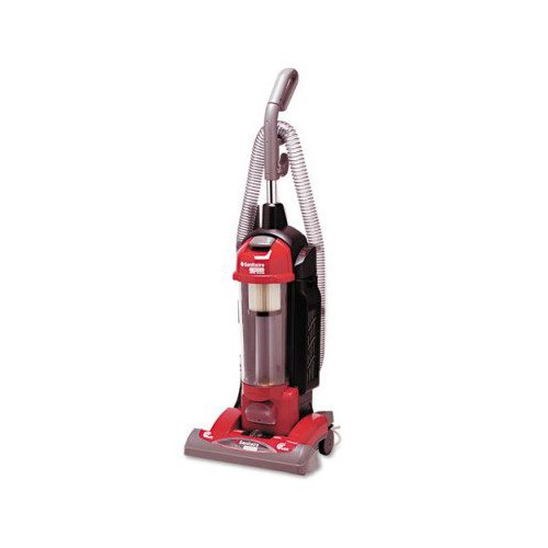Sanitaire True HEPA Commercial Bagless/Cyclonic Upright Vacuum, Red -