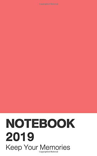 Notebook 2019: Calendar Living Coral Color (Pantone, Band 4) (Living Color-band)