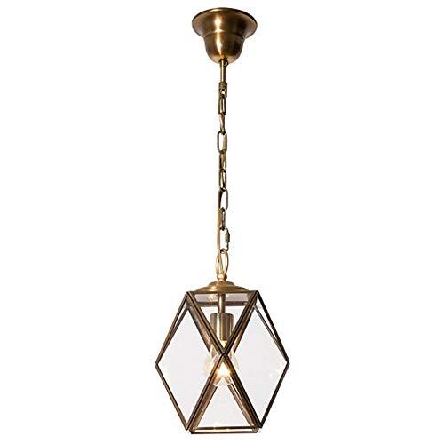 Weinlese-europäischer Eisenkunstleuchter, Justierbares Glasdeckenlicht Für Die Stab- Und Küchenbeleuchtung, Mehrfarben (Farbe : 43132)