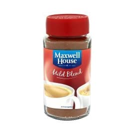 12 X MAXWELL HOUSE COFFEE POWDER MILD 100g (12 PACK BUNDLE)
