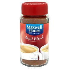 12 X MAXWELL HOUSE COFFEE POWDER MILD 100g (12 PACK BUNDLE) 31iZJGm 2B80L
