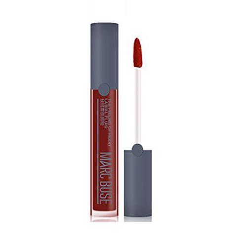 WORMENG Imperméable Rouge à lèvres mat Couleur citrouille Rouge à lèvres Humidité riche en vitamine E de Eat Earth