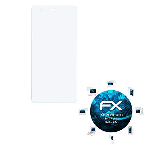 atFolix Schutzfolie kompatibel mit TP-Link Neffos C5s Folie, ultraklare FX Bildschirmschutzfolie (3X)