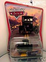 Disney Pixar Cars Lizzie (nouvelle, sans emballage) - Voiture Miniature Echelle 1:55