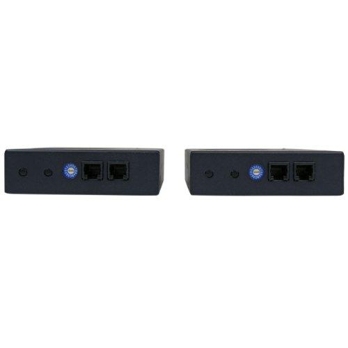 StarTech.com HDMI Video Over IP Gigabit LAN Ethernet Extender Kit - 1080p - HDMI Extender over Cat6 LAN - up to 330 feet (100 meters)