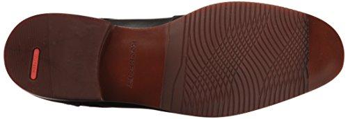 Rockport - Sp Chaussures à bout uni pour hommes Black Leather