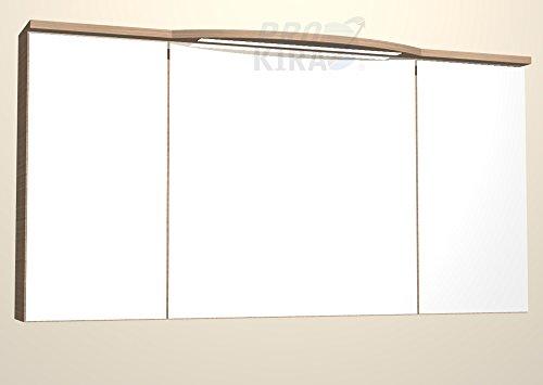 PELIPAL Lunic Spiegelschrank inkl. LED / LU-SPS 26 / Comfort N / B: 140 cm