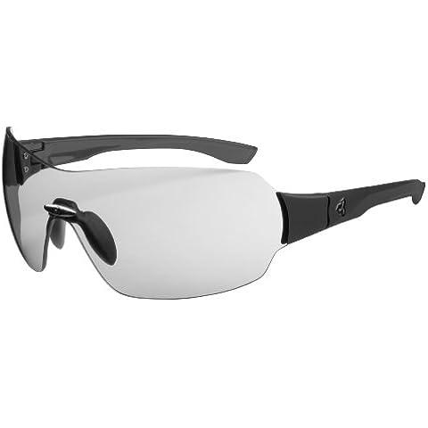 Ryders Eyewear-Occhiali da sole con lenti fotocromatiche, montatura opaca, colore: grigio/telaio nero)