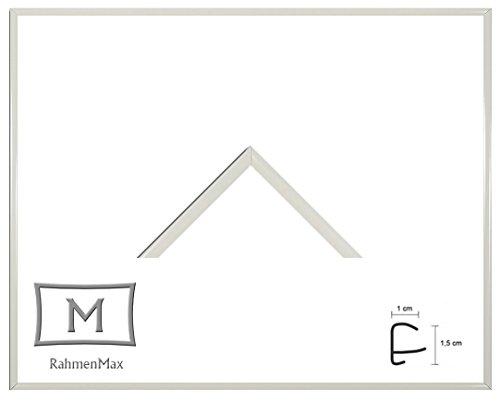 Iowa Kunststoff-Bilderrahmen 44x84 cm Posterrahmen 84x44 cm Farbwahl jetzt: Weiß mit 1 mm Acryglas klar