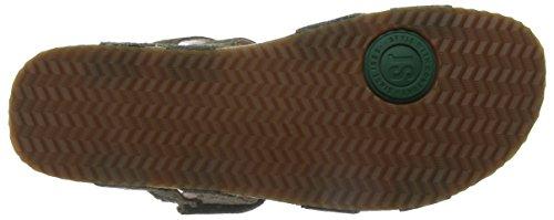Josef Seibel Damen Tonga 04 Sandalen Grün (Olivgrün)