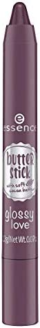 Essence Butter Stick Glossy Love - 01 Blueberry Macaroon, 2.2 g