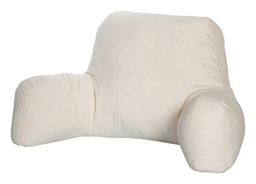 Dormio - Cojín de lectura o descanso. Relleno de fibra hueca con...