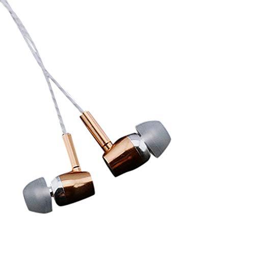 OPAKY Neuer LAPU Kopfhörer 3.5mm Crack-Kopfhörer mit Mic-Headset, für iPhone, iPad, Samsung, Huawei,Tablet usw