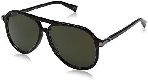 Marc Jacobs Herren MARC 174/S QT 086 58 Sonnenbrille, Braun (Dark Havana/Green),